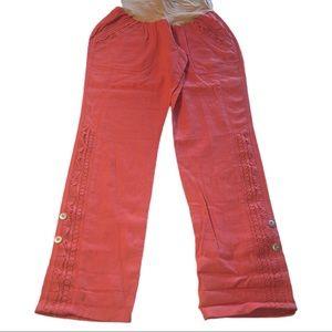 3 for $20- Motherhood Maternity Salmon Color Pants